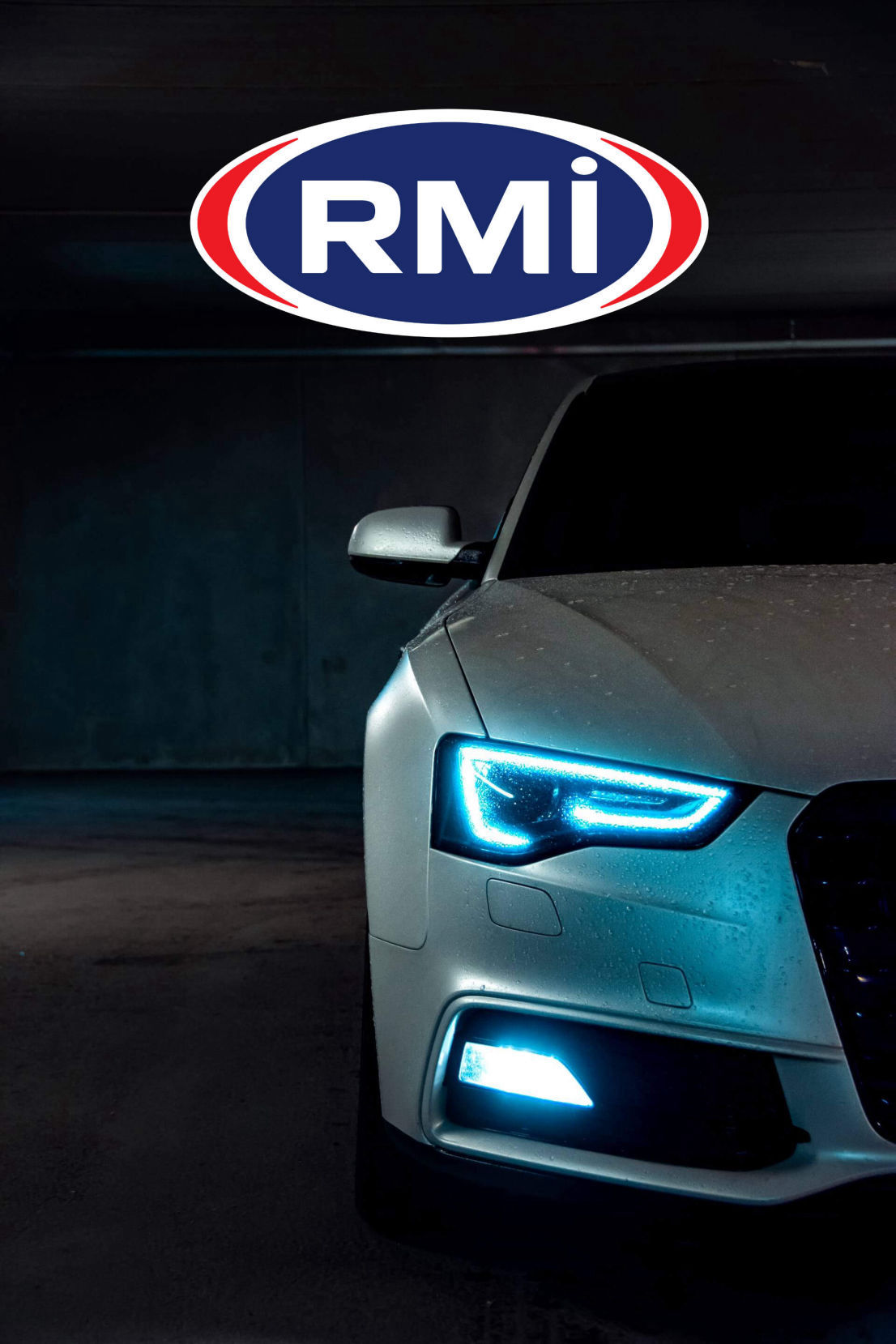 car front with RMI badge